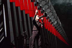 Roger Waters The Wall (thierry_jacquet) Tags: pink paris france wall concert stage pop waters roger floyd thewall stade
