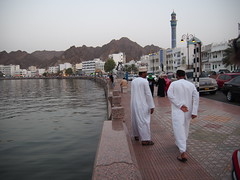Daily life in Muscat.