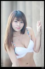 nEO_IMG_DP1U0020 (c0466art) Tags: light portrait sexy girl beautiful face rain female canon nice asia pretty day outdoor gorgeous taiwan lips bikini figure attractive charming 1dx c0466art