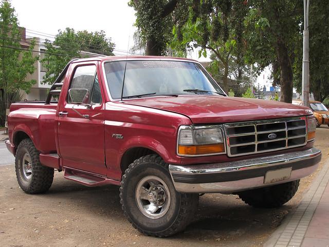 4x4 pickup 1992 xl camionetas fordf150 stepside fseries flareside