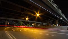 Roads of London (12 of 18) (johnlinford) Tags: city longexposure england urban london night landscape lights poplar unitedkingdom 7d gb docklands canonefs1022 canoneos7d