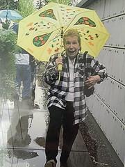 Dancing in the rain (jodimullen1) Tags: love sunshine rain umbrella mom happy dance cemetary ironic missyou everydaylife singingintherain happydance dancingintherain dancingonyourgrave songinyourheart