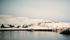 Hofss in winter (bjossi1. Have a nice day my friends :-)) Tags: winter snow canon harbor iceland hofss