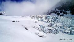 Day 4: Traversing the spectacular seracs of the Glacier du la Serpentine. (Erik.G.) Tags: zermatt chamonix skitouring skitour hauteroute valsorey plateauducouloir