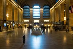 Alone In Grand Central Terminal (Nell's Journey) Tags: nyc newyorkcity usa ny newyork manhattan country midtown grandcentral grandcentralterminal
