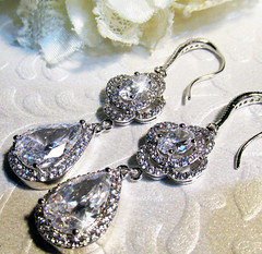 Winter is Coming  Game of Thrones Inspired, Bridal, Ice, Glamour, Great Gatsby, Hollywood (moonlighting creations) Tags: wedding ice silver glamour sparkle prom hollywood bridal rhinestones vintageinspired moonlightingcreations gameofthroneswinter