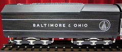 Baltimore & Ohio Railroad # 5800 streamlined steam locomotive - ebony & ivory carving 3 (James St. John) Tags: wood railroad ohio museum train carved engine ivory trains baltimore carving steam locomotive streamlined ebony dover warther 5800 warthers