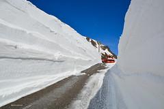 Passo del San Gottardo (Photo by Lele) Tags: panorama switzerland strada neve montagna muri passo fresa gotthard 2016 apertura gottardo