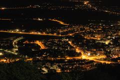City Kranj at night (Dejan Hudoletnjak) Tags: longexposure night landscape lights nightscape bluesky slovenia cityoflights nightcity kranj nightcityscape citykranj