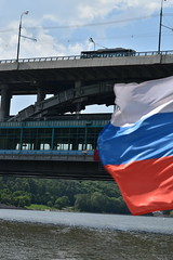 (dinapunk) Tags: bridge river metro russia moscow