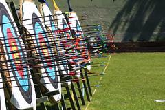 Archery (danielebenvenuti) Tags: italy canon florence reflex italia tuscany target firenze arrow archery toscana frecce gara paglioni bersagli canon700d fitarco