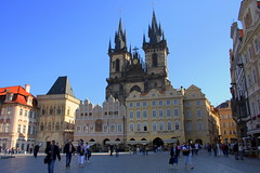 Old Town Square (annalisabianchetti) Tags: city urban church republic czech prague cityscapes praga architectur