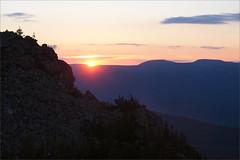 (Sunset) (Kirill & K) Tags: sunset summer sky cloud sun mountain nature rock stone landscape         bashkiria  iremel    southernural
