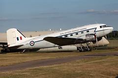 IMG_0888 1200 (Tristar images) Tags: atcoventrycvt gampykk116 dakota dc3 atlantic airlineair atlantique retro raf transport command livery coventry cvt