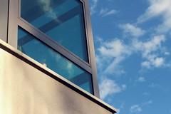 (nihilnocet) Tags: blue light sky window clouds ef50mmf18ii okno summersky canoneos700d nihilnocet