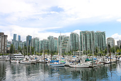 Marina - Vancouver, BC (The Web Ninja) Tags: travel cruise canada mountains building ferry architecture vancouver canon buildings photography boat photo sailing bc yacht explorer rocky cruising columbia canadian explore photograph boating inlet british burrard traveling traveler vancity 70d explored canon70d