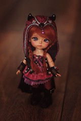 N a n  (v a n  r i) Tags: ly lati yellow latiyellow latidoll happy princess underwolrd bjd ball jointed doll tiny cute red hair girl