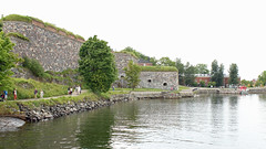 Suomenlinna sea fortress Helsinki Finland (David Russell UK) Tags: suomenlinna sea fortress helsinki finland sveaborg military naval building architecture preserved museum walls buildings water ocean unesco world heritage site