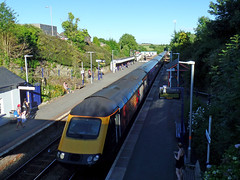 43172 Harry Patch, Liskeard (Marky7890) Tags: fgw gwr 43172 class43 hst 1c86 liskeard railway station cornwall train