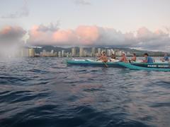 IMG_6852 (nautical2k) Tags: waikikibeachboys paddling outrigger canoe diamondhead honolulu oahu