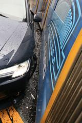 Traffic accident: Tram M6 kissed by an Audi (Pascal Volk) Tags: berlin berlinmitte mitte ottobraunstrase wadzeckstrase strasenbahn tram m6 flexityberlin 8009 bombardier bvg unfall accident crash audi felge carrim wideangle weitwinkel superwideangle superweitwinkel ultrawideangle ultraweitwinkel ww wa sww swa uww uwa canoneos6d canonef1635mmf4lisusm 35mm