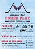 Hockey Bridal Shower Invitation2 (maddieandmarry) Tags: powerplay sports bridalshower invitatoin icerink blue red faceoff team logo fan game sticks puck love
