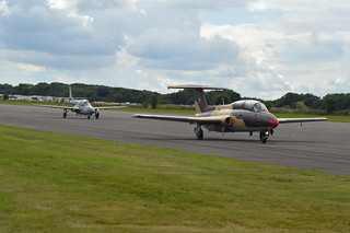 PZL TS-11 Iskra 1018 & Aero L-29 Delfin 66654 Red 53 in Romanian Air Force Colours