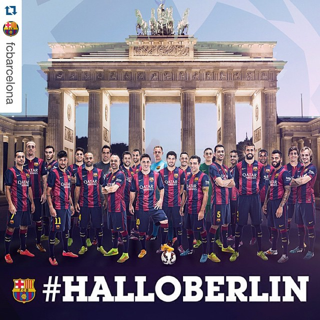 #Repost @fcbarcelona with @repostapp. ・・・ #HalloBerlin Força Barça! Bayern Munich vs FC Barcelona (3-2) 6 Benaitia 59 Lewandowski 74 Müller / 14 Neymar Jr 28 Neymar Jr #FCBLive #FCBFCB #UCL @fcbarcelona