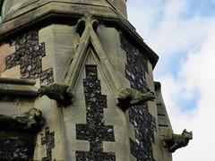 Minster Gargoyles (LookaroundAnne) Tags: church norfolk yarmouth minster greatyarmouth
