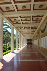 a look down the hall (matthew_ropp) Tags: museum unitedstates perspective gettyvilla