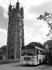 Photo of Preserved Bristol Omnibus Bristol LH DHW293K at Dundry Church, 17/05/2015