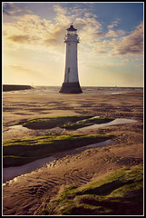 Perch Rock Lighthouse (stephen dutch BDPS) Tags: sea lighthouse beach rocks wirral newbrighton perchrock wirrallighthouse