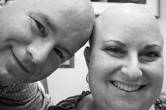 Twinsies! (dmoranphotog) Tags: love support couple married cancer marriage spouses husband wife partners hairloss chemo eosremote dlbcl