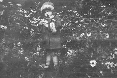 1920's The Girl 👧 In The Woods Picking Flowers 💐 (CT Photography (UK)) Tags: old flowers black flower sepia photography photo photos photographs photograph 1922 1928 picking 1925 1920 1921 1929 1930 1923 1924 1926 1927 whiteblackandwhite
