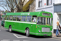 HDL23E 808 Southern vectis (martin 65) Tags: road friends bus public buses vintage bristol king transport running hampshire southern vectis dorset vehicle alfred re preserved winchester preservation hants 152016