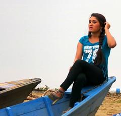 Fewa Lake (Rolfmundi) Tags: nepal boot see portrt ufer pokhara fewa