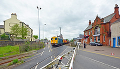 20107 at Coalville (robmcrorie) Tags: street old london underground high crossing stock tube s class level lane 20 derby dalby gbrf litchurch coaville 7x23