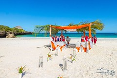 Beach wedding at Chale (The Sands Kenya) Tags: ocean africa beach island kenya indian diani