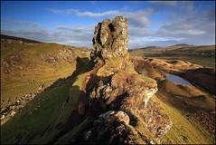 Fairy Glen (jeanny mueller) Tags: fairyglen trotternish skye isleofskye scotland landscape sunrise cairn rock tower schottland landschaft tal felsen