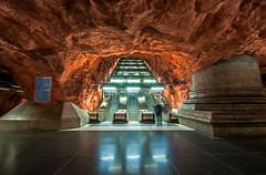 Stadion (lg Fotografi) Tags: stockholm sverige stadion tunnelbana