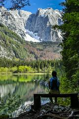 Peace (LucaValvasonSerodine) Tags: mountain lake water colors trekking peace reflexes fusine laghi