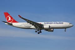 TC-JIN Airbus A330-203 THY Turkish Airlines Heathrow 14th March 2016 (michael_hibbins) Tags:
