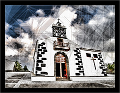 experiments, church Santa Cruz, La Palma (Dierk Topp) Tags: santacruz architecture nikon churches kirchen lapalma hdr topaz lucisart nikond3 nikkor1424mm