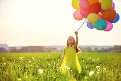 Six year old girl holding balloons (Tonya B4) Tags: girls summer sky people inspiration playing cute nature colors beautiful beauty field grass childhood smiling fashion children fun creativity outdoors person freedom landscapes flying holidays child joy balloon young meadow happiness human helium leisure preschool activity cheerful playful carefree actions concepts lifestyles russianfederation