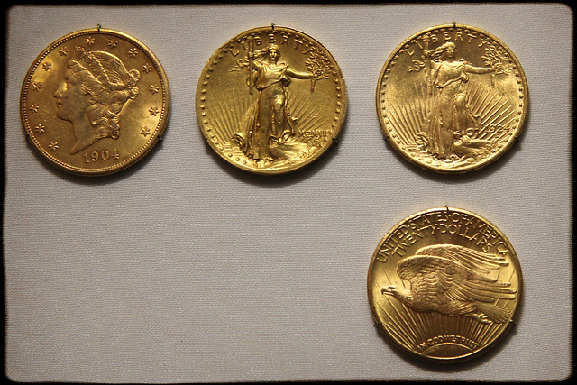 Double-Eagle gold coins