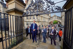 Secretary Kerry Admires the Architecture in Oxford (U.S. Department of State) Tags: uk unitedkingdom oxford johnkerry oxfordunion universityofoxford jonfiner