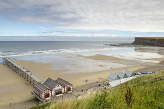 Saltburn-by-the-Sea (Pabs777) Tags: uk sea beach coast pier sand nikon yorkshire coastal northyorkshire saltburn 2015 nikonafs1755mmf28g d7000 nikond7000