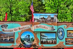 Welcome to Hollister (David Davila Photography) Tags: vacation tree outdoor mo missouri branson geotag hollister 2016 nikond800 holuxm241