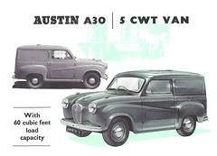 Austin A30 van (Hugo90-) Tags: truck austin commercial van bmc a30