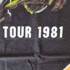 #1761C Iron Maiden - Killers World Tour 1981 (Minor Thread) Tags: world black classic rock metal shirt vintage concert tour tshirt 1981 eddie merch killers ironmaiden minorthread tshirtwars